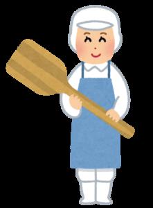 給食のおばちゃん