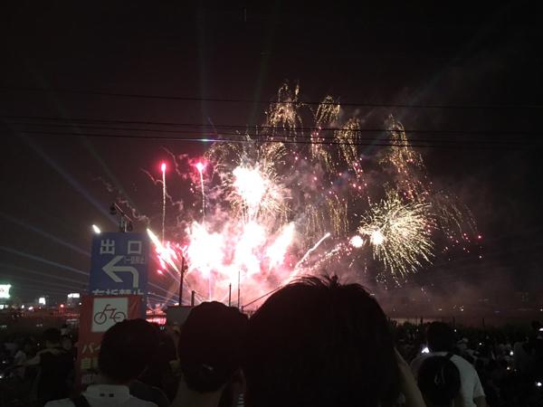 オプシア花火大会