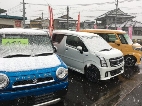 鹿児島が大雪